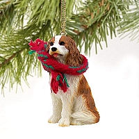 Cavalier King Charles Spaniel Brown & White Original Ornament