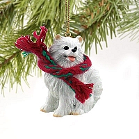 American Eskimo Miniature Original Ornament