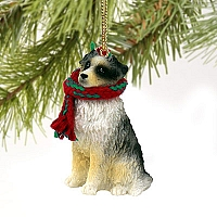 Australian Shepherd Blue Original Ornament