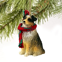Australian Shepherd Brown w/Docked Tail Original Ornament