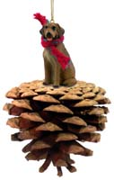 Rhodesian Ridgeback Pinecone Pet Ornament