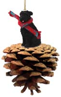Bouvier des Flandres Pinecone Pet Ornament