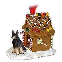 Belgian Tervuren Ginger Bread House Ornament