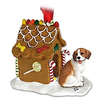 Beagle Ginger Bread House Ornament