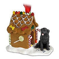 Newfoundland Ginger Bread House Ornament