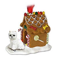 West Highland Terrier Ginger Bread House Ornament