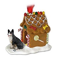Welsh Corgi Cardigan Ginger Bread House Ornament