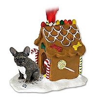 French Bulldog Ginger Bread House Ornament