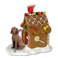 Vizsla Ginger Bread House Ornament