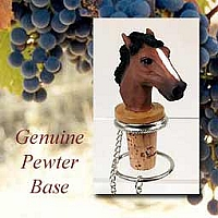 Bottle Stoppers Horses