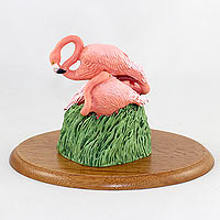 Flamingos Figurine