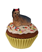 Yorkshire Terrier Pupcake Trinket Box