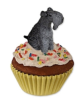 Kerry Blue Terrier Pupcake Trinket Box