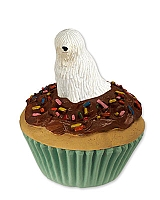 Komondor Pupcake Trinket Box