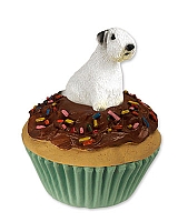 Sealyham Terrier Pupcake Trinket Box