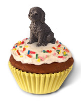 Labradoodle Chocolate Pupcake Trinket Box