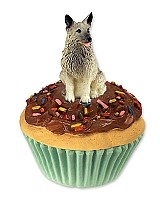 Norwegian Elkhound Pupcake Trinket Box