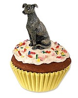 Greyhound Brindle Pupcake Trinket Box