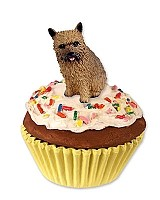 Norwich Terrier Pupcake Trinket Box