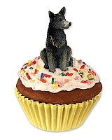 Australian Cattle BlueDog Pupcake Trinket Box