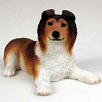 Collie Sable Puppy Figurine