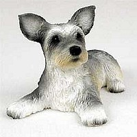 Skye Terrier Puppy Figurine