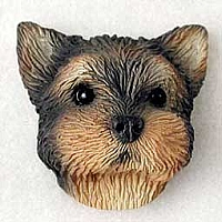 Yorkshire Terrier Puppy Magnet