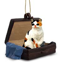 Calico Shorthaired Traveling Companion