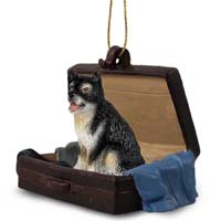 Alaskan Malamute Traveling Companion Ornament