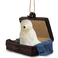 Komondor Traveling Companion Ornament