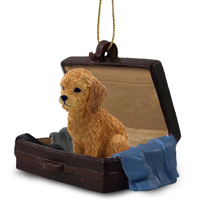 Goldendoodle Traveling Companion Ornament