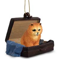 Chow Red Traveling Companion Ornament