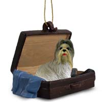 Shih Tzu Mixed Traveling Companion Ornament