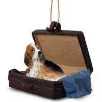 Basset Hound Traveling Companion Ornament