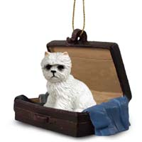 West Highland Terrier Traveling Companion Ornament