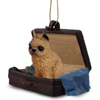 Brussels Griffon Red Traveling Companion Ornament