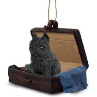 Brussels Griffon Black Traveling Companion Ornament