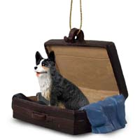 Welsh Corgi Cardigan Traveling Companion Ornament