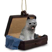 Cairn Terrier Gray Traveling Companion Ornament