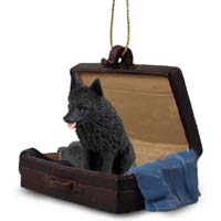 Schipperke Traveling Companion Ornament
