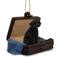 Portuguese Water Dog Traveling Companion Ornament