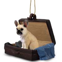 French Bulldog Fawn Traveling Companion Ornament