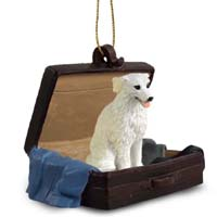 Kuvasz Traveling Companion Ornament
