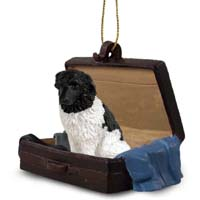 Landseer Traveling Companion Ornament