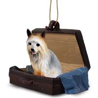 Silky Terrier Traveling Companion Ornament