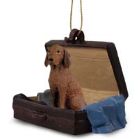 Vizsla Traveling Companion Ornament