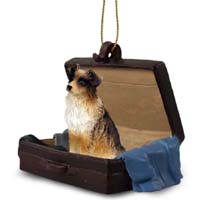 Australian Shepherd Brown Traveling Companion Ornament