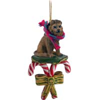 Lion Candy Cane Ornament