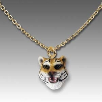 Tiger Tiny One Head Pendant
