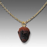 Orangutan Tiny One Head Pendant